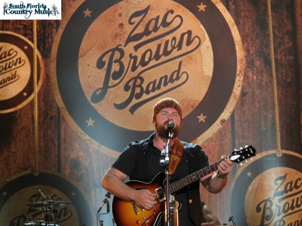 Zac Brown Band Tour  Song List