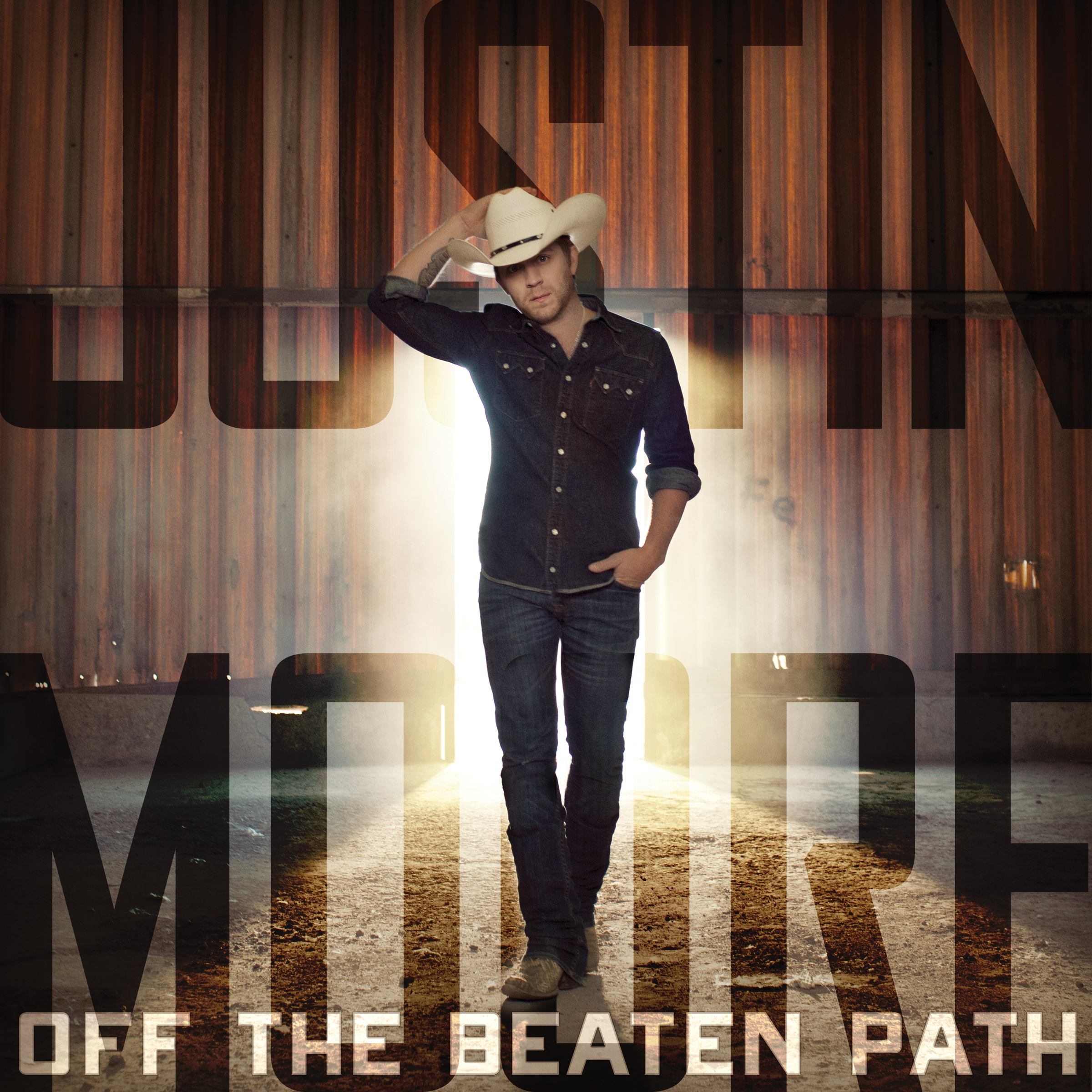"""Justin Moore Reveals Album Cover and Tour for """"Off The ..."""
