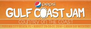 Pepsi Gulf Coast Jam, logo