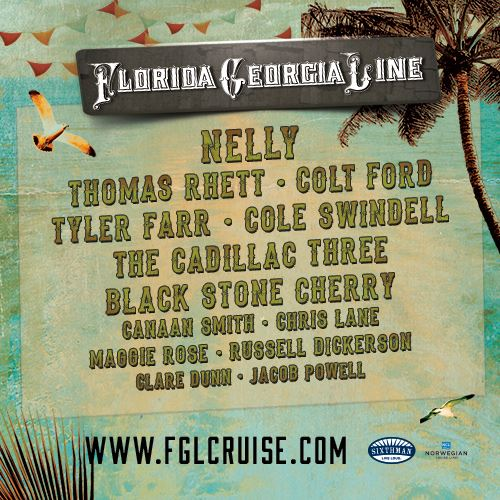 Florida Georgia Line Announces Lineup For This Is How We Cruise