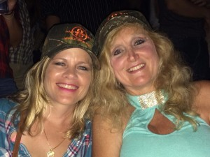 Sporting our new Garth Brooks hats
