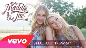 Audio your side of town by maddie amp tae 187 hometown country