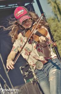 Maggie Baugh - Nascar 2014-HR