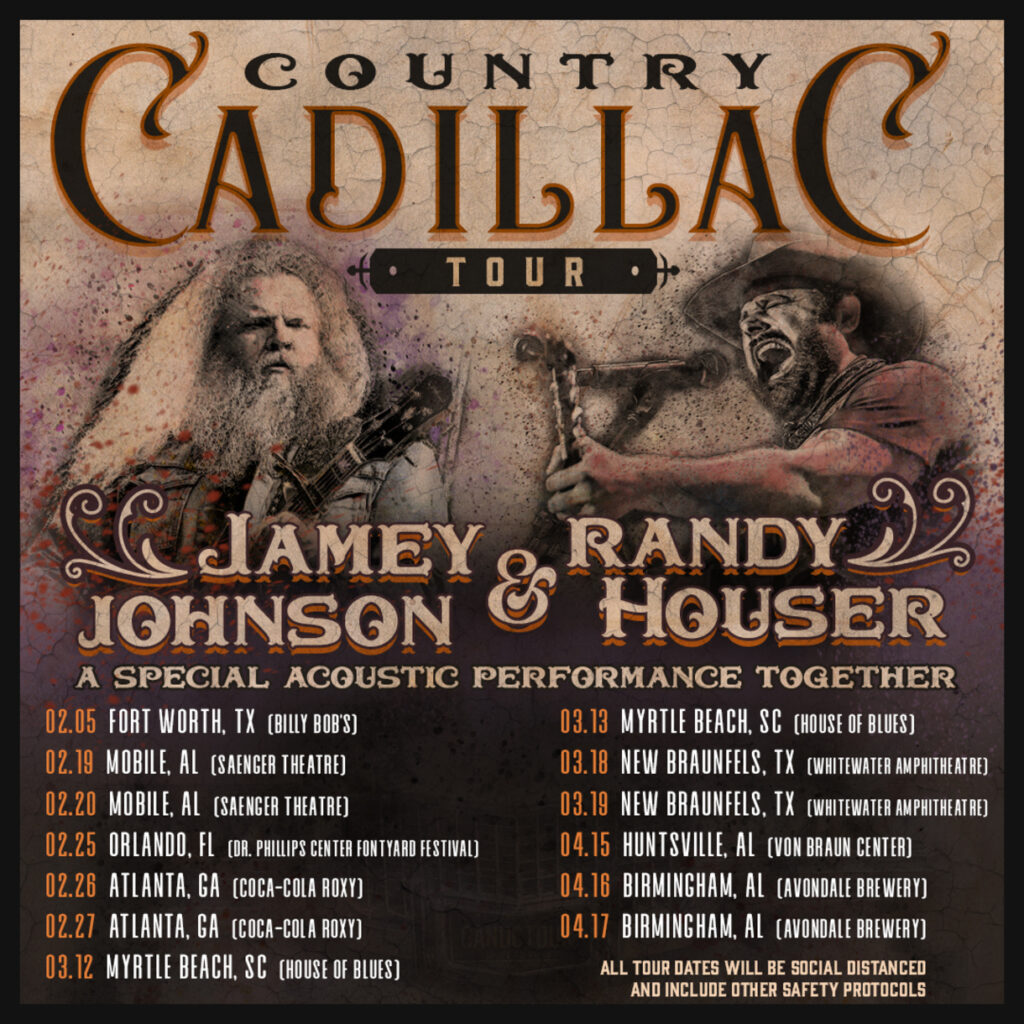 Jamey Johnson and Randy Houser Announce Country Cadillac Tour